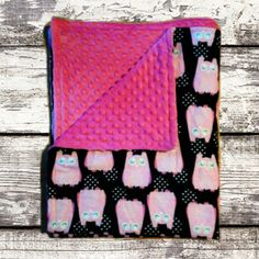 Doudou Minky/Flanelle Motifs Hiboux Etsy, Handmade, Flannel, Products