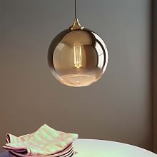 Ombre Mirrored Pendant