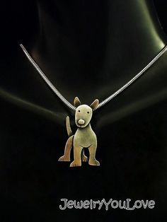 Hey, I found this really awesome Etsy listing at https://www.etsy.com/listing/272398344/sterling-silver-bull-terrier-necklace