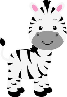 Jungle animal art baby shower 57 ideas for 2019 Jungle Theme Birthday, Jungle Party, Safari Party, Safari Theme, Zebra Party, Zebra Clipart, 2 Baby, Baby Art, Baby Zebra