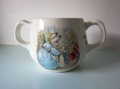 Peter rabbit cup peter rabbit mug Beatrix potter Wedgwood Baby Shower Gifts, Baby Gifts, Beatrix Potter Books, Christening Gifts, Peter Rabbit, Wedgwood, Etsy, Pug, Baptism Presents