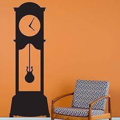 Grandfather Clock - Black - Wall Decal Custom Vinyl Art S... http://www.amazon.com/dp/B0087IETEA/ref=cm_sw_r_pi_dp_7VOrxb0NEY64E