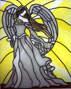 Stained Glass Angels | Description Angel of Hope from Elegance In Art Glass studios.JPG