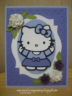 Cute card, if you like Hello Kitty