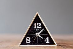 Triangle Alarm Clock #geometric