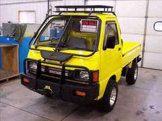 Small Trucks, Mini Trucks, Chevy Truck Models, Mini 4x4, Snow Vehicles, Suzuki Carry, Electric Bike Kits, Kei Car, Little Truck