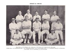 Milton High School Cricket photos Cricket XI from 1913 - 2001 Milton High School, Cricket, The Row, Sports, Vintage, Hs Sports, Cricket Sport, Vintage Comics, Sport