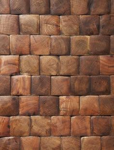 Oak, Brownstone End Grain