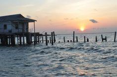Grand Isle, Louisiana  -  Favorite fishing spot for New Iberians.