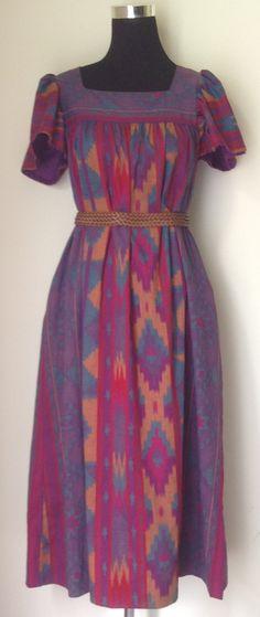 vintage #tribal muu muu maxi dress  http://divineboheme.storenvy.com/products/1759361-tribal-print-muu-muu-maxi-dress