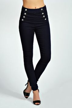 Shape-hugging everyday skinny jeans edit perfect for a casual biz or toned-down glam look. Browse from a variety of flattering skinny jeans for women. Denim Skinny Jeans, Black Jeans, Denim Fashion, Womens Fashion, High Rise Jeans, Super Skinny, Trousers, Pants, My Style