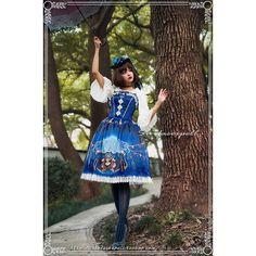 Surfacespell|サーフェイセスペルのFreak Show ジャンパースカートです。ロリータファッション服の公認通販ワンダーウェルト フルールでは他にもSurfacespell|サーフェイセスペルの商品を17点取り扱っています。海外発送も行っております。