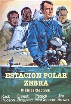 Estación polar Zebra (1968) EEUU. Dir: John Sturges. Acción. Suspense. Guerra fría - DVD CINE 809
