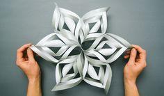 Slik lager du en flott 3D-stjerne med papir
