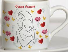 Mesajlı kupa,canım annem temalı anneler günü fincan hediyesi | Kadınca Fikir - Kadınca Fikir