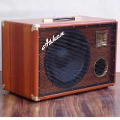 "Ashen Amps ""Woody"" 1x12 Bass Cab with tweeter"