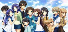 Nagi no asukara... I SERIOUSLY recommend this anime
