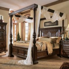 beautiful beds for the master bedroom | bed with the smoothest bedding fabrics and complete the drama bedroom ...