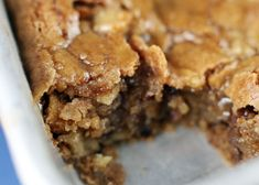 easy apple cake drenched in brown sugar bath