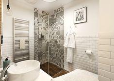 Malá retro koupelna | AŤÁK DESIGN Alcove, Toilet, Bathtub, Bathroom, Retro, Design, Standing Bath, Washroom, Flush Toilet
