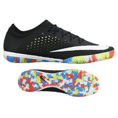 Nike  Mercurial X Finale Street Indoor Soccer Shoes (Black/Multi)