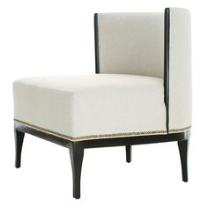Charles Lounge Chair  Contemporary, Transitional, Upholstery  Fabric, Wood, Lounge Chair by Reagan Hayes