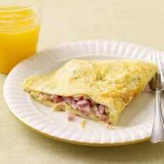 Omelette jambon-fromage | Recette Minceur | Weight Watchers