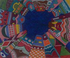 vertigo turbillon caos di colori