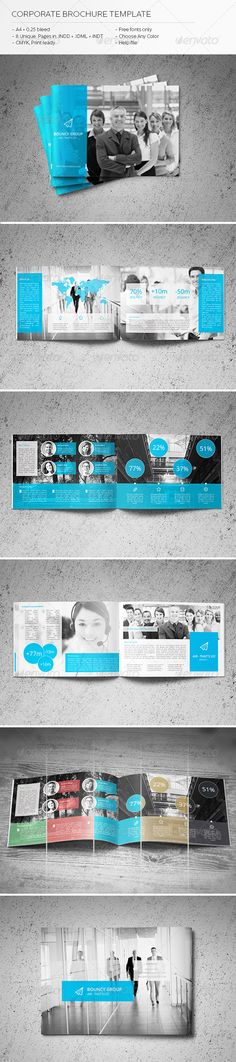 Corporate Brochure Template  #GraphicRiver         Hi! Thank you for your purchase! This template can surprise you! Incredibly lightweight and comfortable, it is useful to you in any business! Use it for any event and in absolutely any purpose. You will not be easy to change