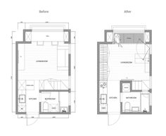 2 Super Tiny Home Designs Under 30 Square Meters (Includes Floor Plans)
