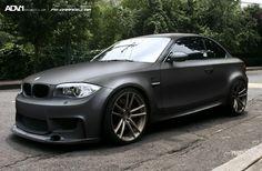 BMW 1M Matte Black Bmw, Bmw Black, E60 Bmw, E46 M3, Bmw 1m, 135i, Bmw 1 Series, Bmw Cars, Autos