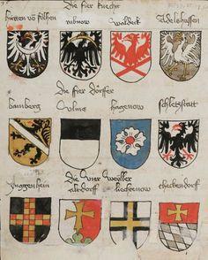 Wappenbuch des St. Galler Abtes Ulrich Rösch Heidelberg · 15. Jahrhundert Cod. Sang. 1084  Folio 35