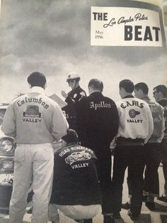 LAPD The Beat magazine with LA car clubs