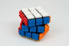 LEGO Plated Rubik's Cube by Bahrs on Etsy: