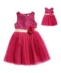 18c6d5282423 Little ones look elegant with this twirl-worthy dress featuring a flowing  skirt and floral