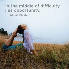 """""""In the middle of difficulty lies opportunity."""" - Albert Einstein.   (Photo of Bo Forbes in Estes Park, Colorado by Wari Om)"""