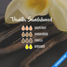 A Short Helpful Essential Oil Guide For essential oil perfume recipes Sandalwood Essential Oil, Vanilla Essential Oil, Essential Oil Candles, Essential Oil Scents, Essential Oil Perfume, Essential Oil Diffuser Blends, Essential Oil Uses, Doterra Essential Oils, Vanilla Oil