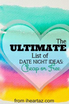 Phoenix Date Night Ideas - Cheap or Free