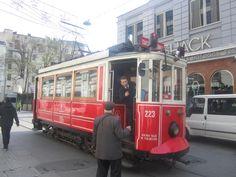 Tram Istiklal - Peran  #tram #tramistanbul