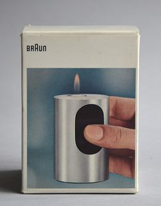 Cylindric T2, Designed by Dieter Rams, 1968.  My aunt worked at Braun in the 60's/70's and we would see these lovelies at home all the time. (Koldo)