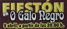 """A TI MEU CAMBADOS: FESTÓN POR TODO ALTO ESTE SÁBADO EN """"O GALO NEGRO""""..."""