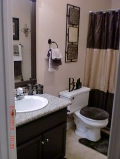 eggplant bathroom bathroom designs decorating ideas hgtv a little too dark i think for a small bathroom but i really love the half painte - Hgtv Bathrooms Design Ideas