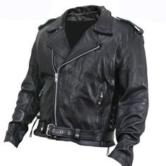 Check out here #Armoredblackleatherjacket #classicbiker look in wear with belt for check more #leatherjacket #motorcycleleatherjacket visit http://shop.stylees.co.uk/