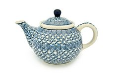 Blue Rose Polish Pottery: Olympia Small Teapot
