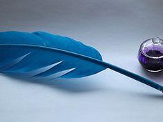 Чернильная ручка перо. | Ярмарка Мастеров - ручная работа, handmade