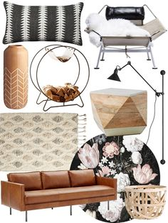 Create the Look: Organic Modern Living Room Shopping Guide