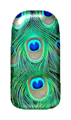 Peacock Full Nail Fusion Decals - $5.99. http://www.bellechic.com/products/c7e7157623/peacock-full-nail-fusion-decals