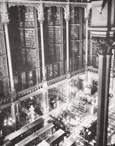 Post with 0 votes and 312 views. A look inside the magnificent Cincinnati Public Library that held over books before it was demolished for the construction of a new, more modern building, 1899 Cincinnati Library, Brooklyn Bridge, Best Funny Pictures, Hold On, Photo Galleries, Public, Jokes, Construction, Architecture