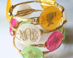 New to SassySouthernGals on Etsy: Engraved Monogram Bracelet Monogram Bracelet Engraved Icon Bracelet Engraved Acrylic Initial / Monogram Bangle Bracelet USD) Monogram Bracelet, Monogram Jewelry, Engraved Jewelry, Monogram Initials, Jewelry Gifts, Jewelry Accessories, Handmade Jewelry, Jewelry Ideas, Custom Jewelry