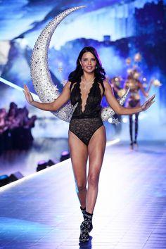 fe4549733e Adriana Lima on the catwalkVictoria s Secret Fashion Show